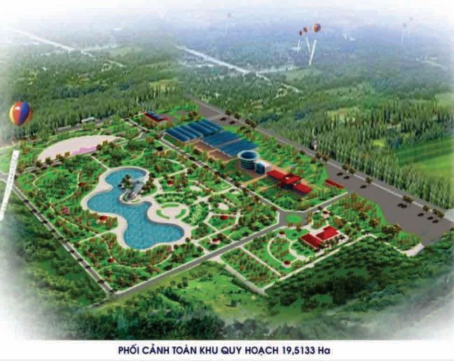 Tư vấn thực hiện các dự án xây dựng Khu Nông nghiệp công nghệ cao