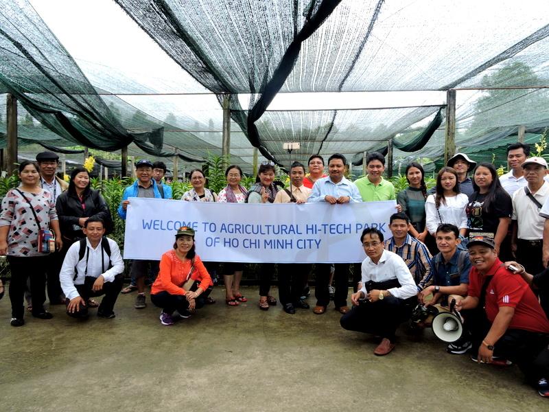 Các đoàn khách quốc tế từ Hàn Quốc, Thụy Sĩ và Myanmar đến tham quan Khu Nông Nghiệp Công Nghệ Cao Thành Phố Hồ Chí Minh