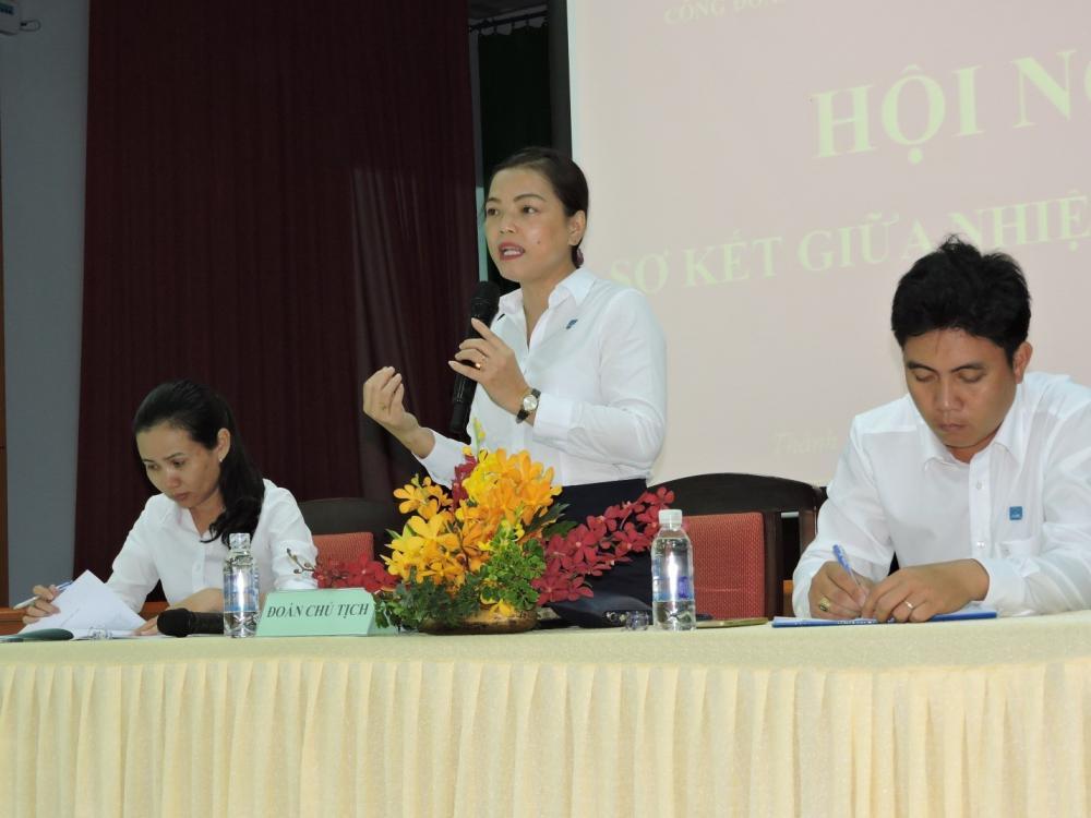 Hội nghị Sơ kết giữa nhiệm kỳ 2014-2019 Công đoàn CSTV Trung tâm Khai thác Hạ tầng