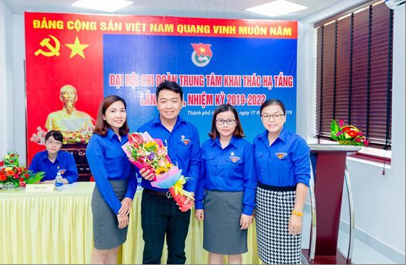 Đại hội Chi đoàn Trung Tâm Khai thác Hạ tầng nhiệm kỳ 2019 - 2022