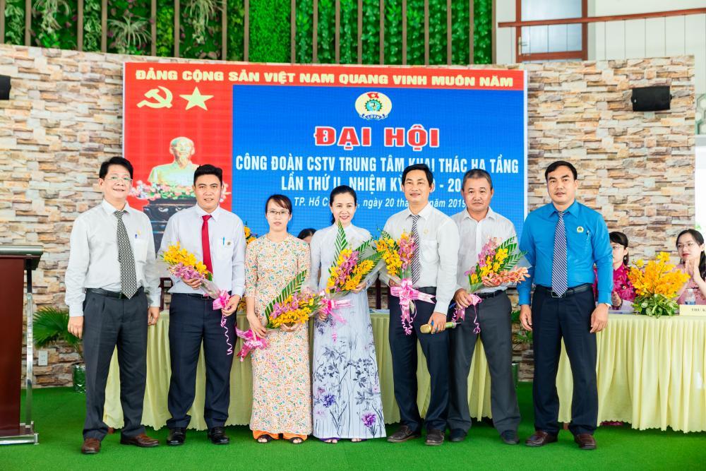 Công đoàn cơ sở thành viên Trung tâm Khai thác Hạ tầng  tổ chức Đại hội lần thứ II, nhiệm kỳ 2019-2024