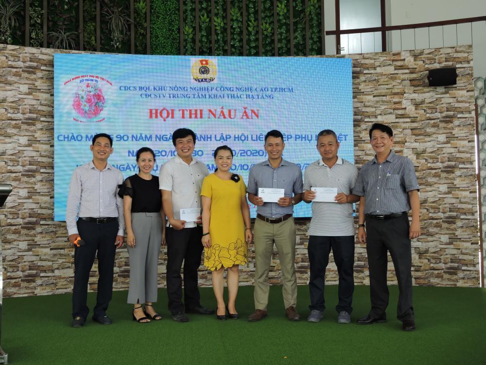 Công Đoàn CSTV Trung tâm Khai thác Hạ tầng họp mặt kỷ niệm 90 năm ngày thành lập Hội Liên hiệp Phụ nữ Việt Nam  ( 20/10/1930 – 20/10/2020) và 10 năm ngày Phụ nữ Việt Nam (20/10/2010 – 20/10/2020)